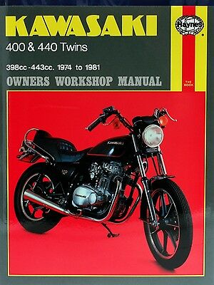0281 Haynes Kawasaki 400 & 440 Twins (1974 - 1981) Workshop Manual