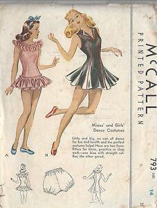 1940s Vintage Sewing Pattern B32