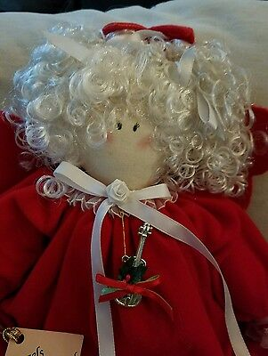 Handmade Angel Christmas Doll Fabric 18 inches from Angels Unlimited numbered