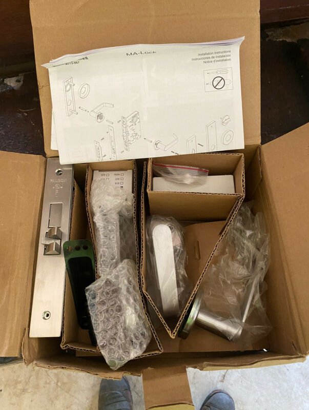 Falcon Entry / Office Mortise Lock BRAND NEW 626 Finish