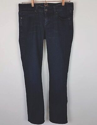 Jeweled Damen Jeans (Seven7 Jeans Gerades Bein Jeweled Größe 6 Damen Dunkel Nwot)