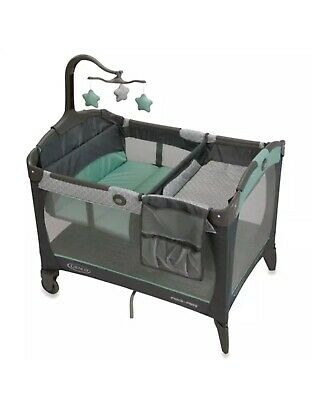 Graco Pack 'n Play Change 'n Carry Playard - Manor - GallyHo