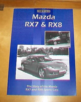 MAZDA RX7 & RX8 ROAD TEST REPRINT BOOK. CP PRESS.