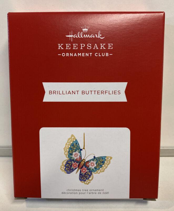 2021 Hallmark Keepsake KOC Brilliant Butterflies Ornament REPAINT