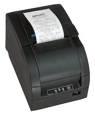 Snbc Btp-m300 Impact Kitchen Printer Parallel Usb Auto Cutter Dark Gray