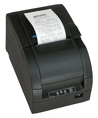 Snbc Btp-m300 Impact Kitchen Printer For Sam4s Ecrs Auto Cutter Dark Gray