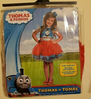 Thomas Train Costumes (Girls Thomas The Train Costume Medium 3T-4T Halloween Dress Up)