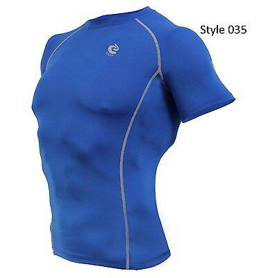 035 Blue Short Sleeve Shirt