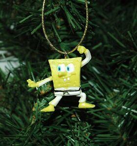 Spongebob Karate, Judo Mini Christmas Ornament