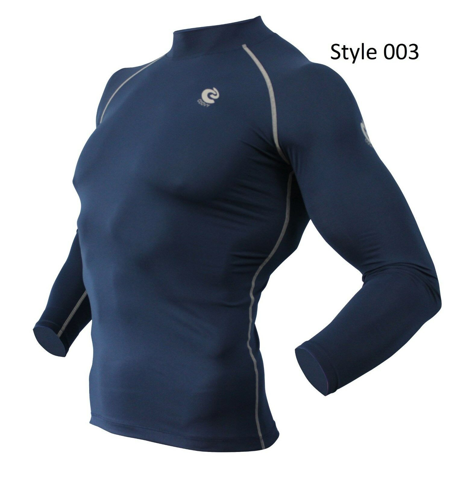 003 Navy Long Sleeve Shirt
