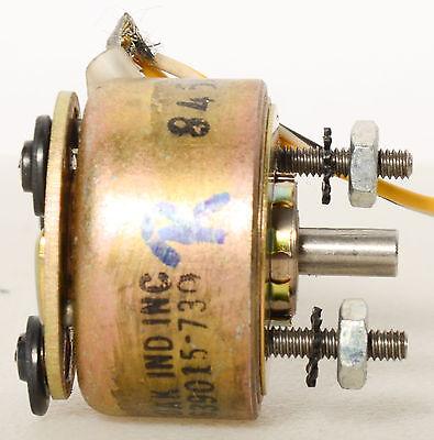 Oak Industries Rotary Solenoid 639015 739 8450 Screws