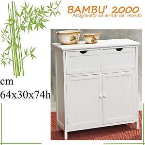 Art0004 mobile scarpiera legno bianco bagno camera cucina for Mobiletto camera