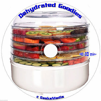Food Dehydrator Cookbook 19 Books CD Bible Recipes Excalibur