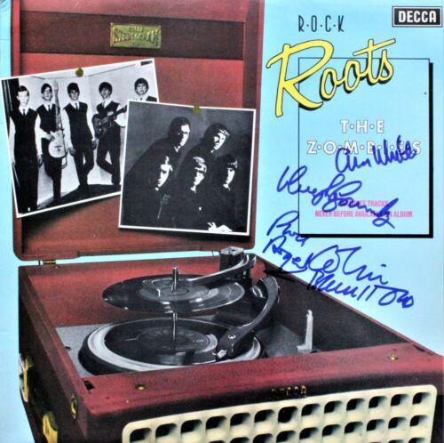 The Zombies SIGNED Vinyl Record, Decca Rock Roots, Rod, Chris, Colin, Hugh