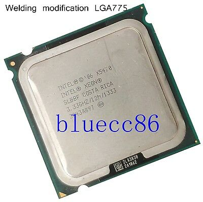 Intel Xeon X5470 LGA775 3.33GHz Quad-Core CPU Processor no need adapter QX9650 comprar usado  Enviando para Brazil