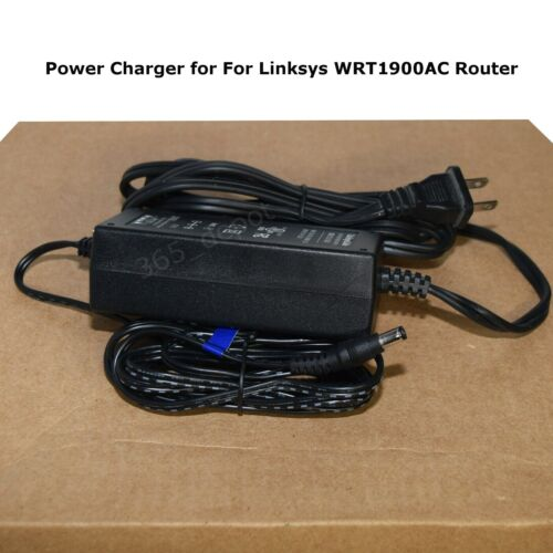 AC Adapter Power Charger for LINKSYS WRT1900AC Router Free Fast Shipping