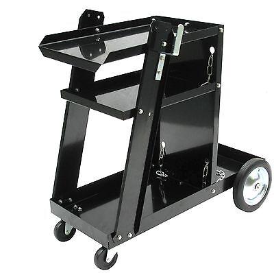 Werkstattwagen für Inverter Schweißgerät Schutz Gasflasche Argon MIG WIG 07043