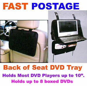 Back-Of-Car-Seat-7-8-9-10-Portable-DVD-Laptop-Holder-Tray-Hold-8-Boxed-DVD