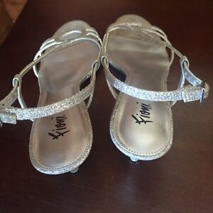 Silver Sparkling shoes
