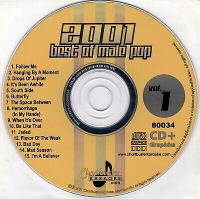 Karaoke CDGs, DVDs & Media - Chartbuster Vol