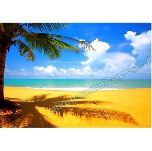 Quadri moderni poster arredo casa caraibi spiaggia mare for Poster arredo casa