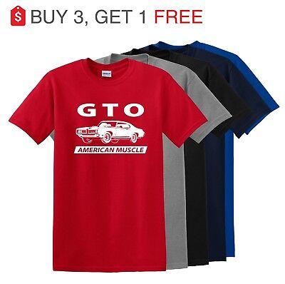 Pontiac GTO Shirt - Muscle Car T-shirt  up to 5x](Adult Muscle Shirt)
