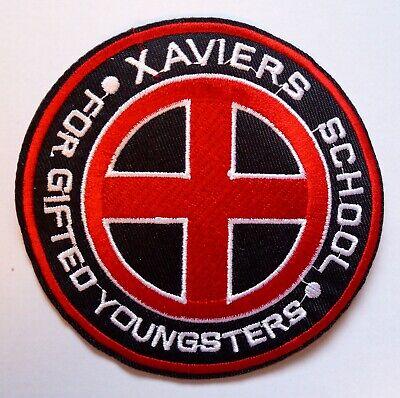 X-Men Xaviers School - Kostüm Aufnäher Uniform Patch - X Men Uniform