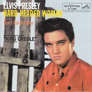 ELVIS-PRESLEY-Hard-Headed-Woman-Dont-Ask-Me-Why-PICTURE-SLEEVE-RED-VINYL-NEW