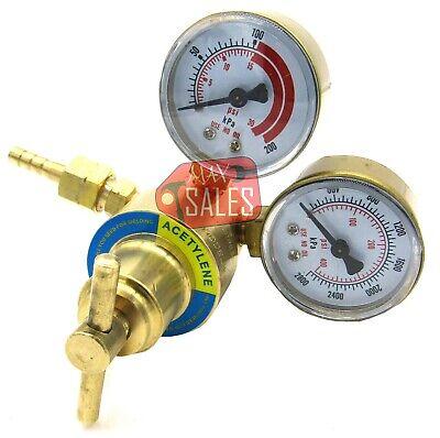 Solid Brass Acetylene Regulators 4 Welding Fit Victor Gas Torch Cutting