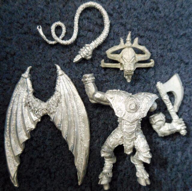 1988 Blood Thirster 3 Greater Daemon of Khorne Citadel Chaos Demon 40K Balrog GW