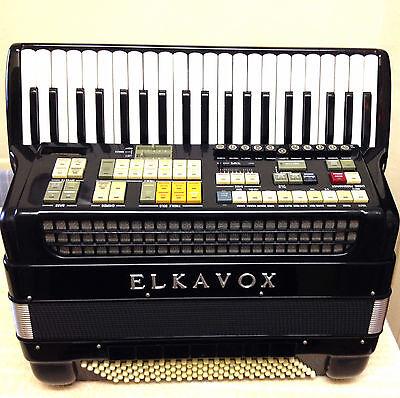 ELKAVOX-PIANO ACCORDION-41/120-4V/11R-5V/7R-VERY GOOD CONDITION-BIN/ BEST OFFER!