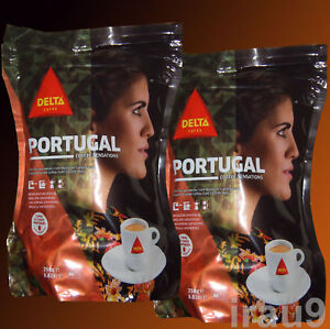 Delta Portugal Coffee Ground Roasted to Perfection, taste Portuguese 500g 1.1lb