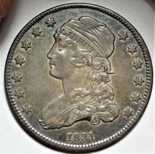 1831 Capped Bust Quarter Choice Extremely Fine to Almost Uncirculated XF AU 25c