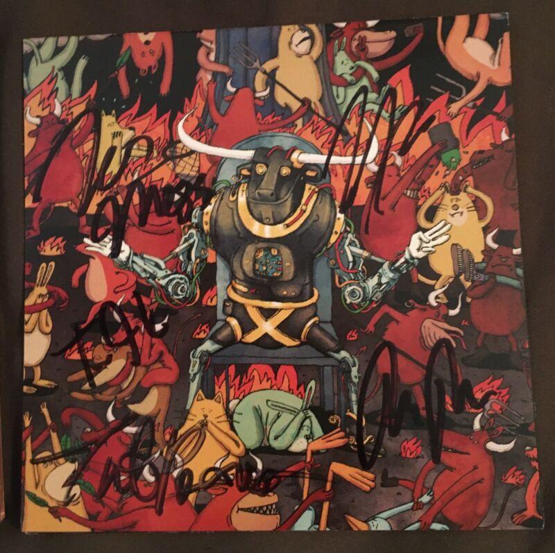 Dance Gavin Dance Signed Afterburner Booklet and Sealed CD