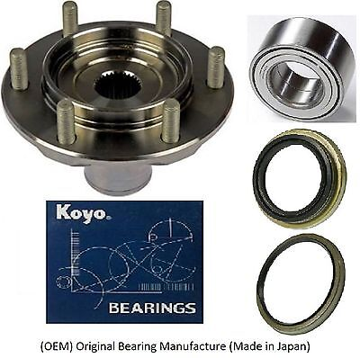 Toyota 4Runner 4WD 1996-2002 Front Wheel Hub&Bearing&Seal Kit Assembly(OEM) KOYO