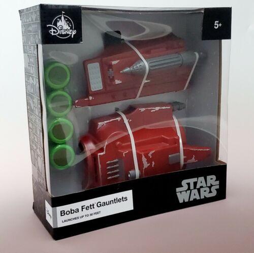 STAR WARS Disney Parks Boba Fett Gauntlet Blaster Toy Mandalorian Book Of