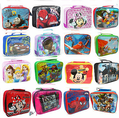 Children Kids School Travelling Insulated Lunch Bag Boys and Girls Picnic Bag