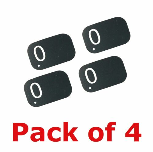4 PACK Size #0 Air Techniques Type X-Ray Phosphor Plates PSP