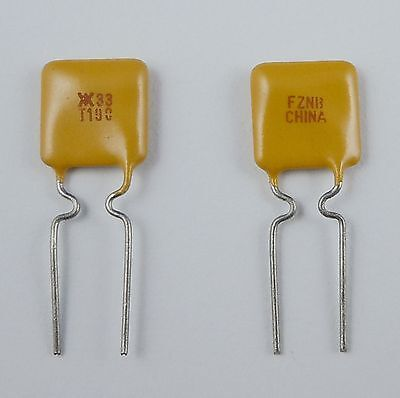 10pcs New Polyswitch Resettable Fuse 33v 1.9a