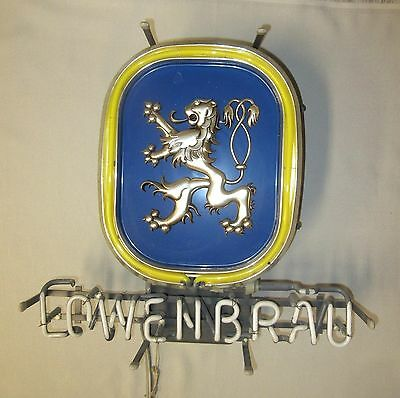- Replacement Tube For Lowenbrau Neon Beer Sign - Yellow 'Field' Tube Only