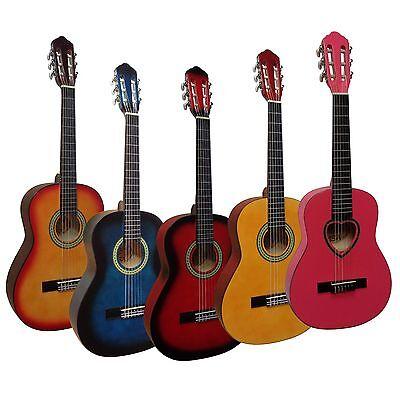 1/2 Kindergitarre, Konzert, CLASSIC, Jugend, Gitarre ^^^ GROßE FARBAUSWAHL ^^^