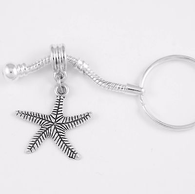 - Starfish jewelry Caribbean starfish keychain starfish key chain ocean best gift