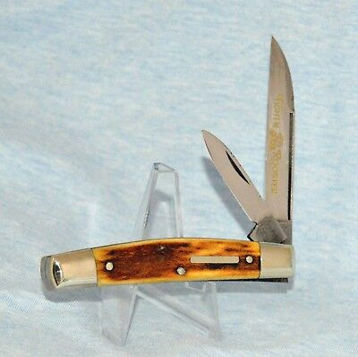 "FIGHT'N ROOSTER STAG IRISH CONGRESS KNIFE ""NEAR MINT! NO CASE /BOX"