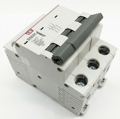 Pole 40 Amp (40 Amp LSis 3 Pole Din Rail MCB Circuit Breaker UL1077 10kA @ 480V; 6kA @ 240V)