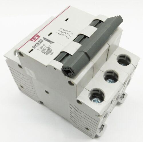 3 Amp LSis 3 Pole Din Rail MCB Circuit Breaker UL1077 10kA @ 480V; 6kA @ 240V