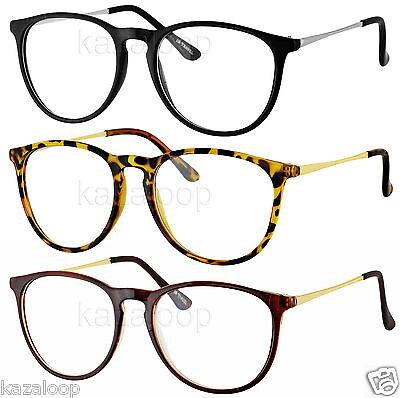 Womens Mens Vintage Nerd Geek Clear Lens Retro Cat Square Glasses