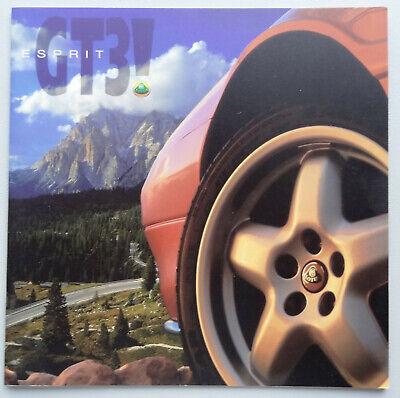 V14537 LOTUS ESPRIT GT3 - CATALOGUE - NON DATE - 21x21 - GB