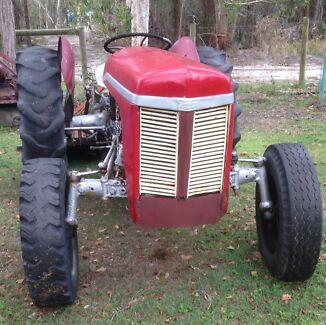 MassyTE20petrol Tractors