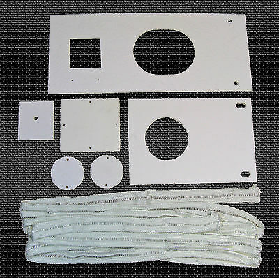 Waste Oil Heater Parts Lanair Mx 250300 Combustion Chamber Gasket Kit Tune Up
