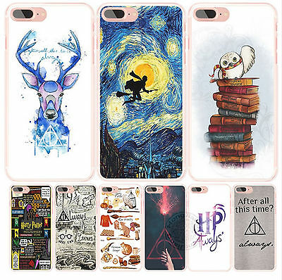 - harry potter deer always owl howgwarts hallows cell phone Cover case for iphone
